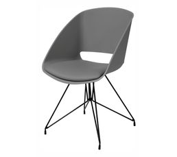 Chaises - Fauteuil SIRIUS 22257-15 Gris