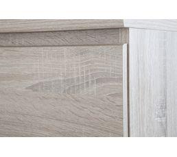 Commode 3 tiroirs BEST imitation chêne