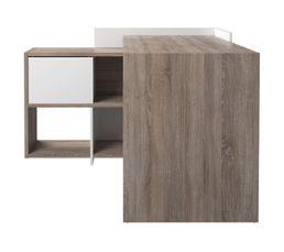 type de bureau bureau d 39 angle meuble bureau et ordinateur pas cher. Black Bedroom Furniture Sets. Home Design Ideas