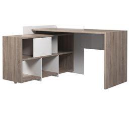 Meuble bureau et ordinateur pas cher - Bureau d angle pivotant ...