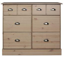 Range-tout 6 tiroirs NOLA Brun