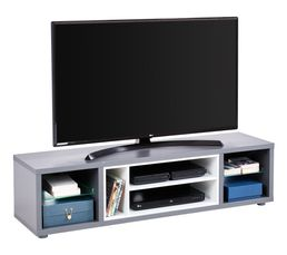 meuble tv design led shades gris meubles tv but. Black Bedroom Furniture Sets. Home Design Ideas