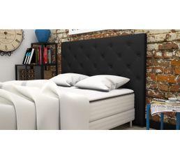 T�tes De Lit - Tête de lit PU L.165 cm CLISS NOIR