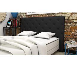 T�tes De Lit - Tête de lit PU L.185 cm CLISS NOIR