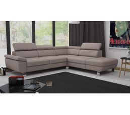 angle r versible william ii pu taupe canap s but On canape william ii