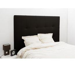 Tête de lit PU L.200 cm DREAM/HOME NOIR