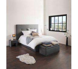 T�tes De Lit - Tête de lit PU L.200 cm DREAM/HOME GRIS