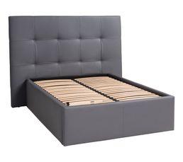 Têtes De Lit - Tête de lit PU L.200 cm DREAM/HOME GRIS