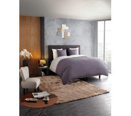Tête de lit L.200 cm DREAM/HOME Anthracite - Tissu