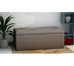banc coffre de rangement syla taupe poufs poires but. Black Bedroom Furniture Sets. Home Design Ideas