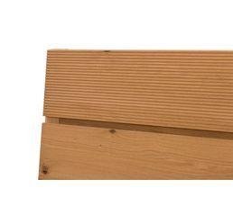 Lit 140x190 cm AUSTRAL placage chêne