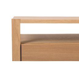Chiffonnier 4 tiroirs AUSTRAL placage chêne