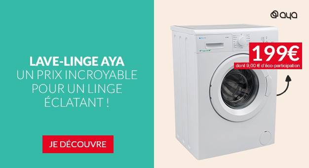 Lave Linge AYA ALF5802