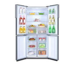 Réfrigérateur américain HAIER HTF-456DM6 Inox