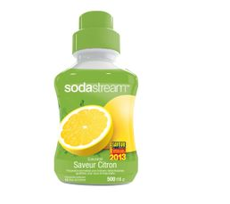 Cartouches Filtrantes - Sirop SODASTREAM Citron 500 ml