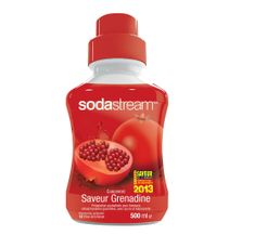 Cartouches Filtrantes - Sirop SODASTREAM Grenadine 500 ml