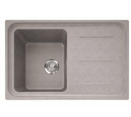 Eviers - Evier 1 bac + 1 égouttoir IMPACT IMG611-78 / Platinum