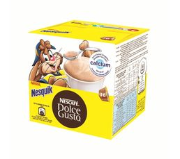 dosettes caf dolce gusto nescafe dolcegusto nesquik x 16 accessoires pet. Black Bedroom Furniture Sets. Home Design Ideas