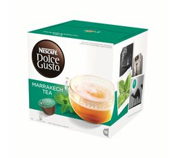 Dosette à café Dolce Gusto NESCAFE DOLCE GUSTO Marrakech Tea x 16