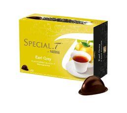 Accessoires Petit Déjeuner - Dosettes à thé NESTLE Spécial T Thé Noir Earl Grey