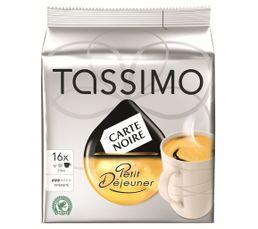 - Dosette Tassimo TASSIMO Petit dejeuner x 16
