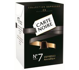 Accessoires Cafetieres Et Expresso - Paquet de 10 capsules CARTE NOIRE Café n°7 Aromatique