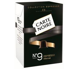 Accessoires Petit Déjeuner - Paquet de 10 capsules CARTE NOIRE Café n° 9 Intense