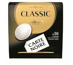 Paquet de 36 dosettes CARTE NOIRE Café Classic