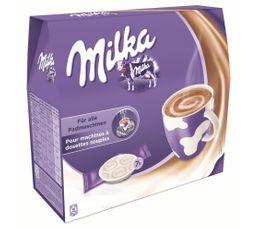 Accessoires Petit Déjeuner - Paquet de 7 dosettes MILKA Chocolat Milka
