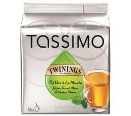 Dosette Tassimo TASSIMO Thé vert x 16