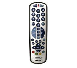 T�l�commande - Télécommande MELICONI Gumbody Smart Senior2- 2 en 1
