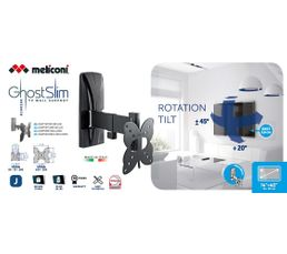 Support mural 14'' - 40'' MELICONI 100200R