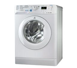 Lave-linge hublot INDESIT XWA81482X WFR blanc