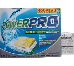 Kit lave-vaisselle WPRO Tablettes+anticalcaire BUT200