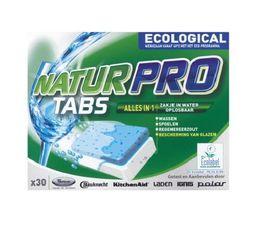 Nettoyant lave-vaisselle WPRO TAB008 Naturpro x30