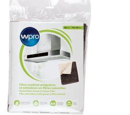WPRO Filtre de hotte à découper Anti-graisses et odeurs NCF351