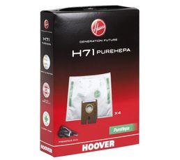 Accessoires Entretiens Des Sols - Sac aspirateur HOOVER PureHepa H71 x 4