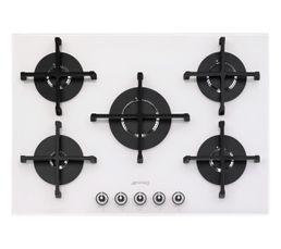 table gaz smeg pv175b 1 plaques but. Black Bedroom Furniture Sets. Home Design Ideas
