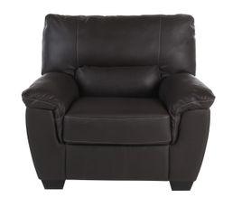 fauteuil palio cuir cro te cuir chocolat fauteuils but. Black Bedroom Furniture Sets. Home Design Ideas