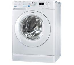Lave-linge hublot INDESIT BWA101283XWFR blanc