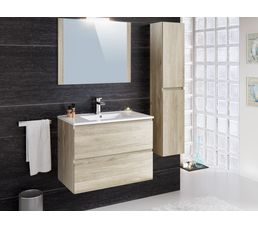 colonne salle de bain suspendre fidji ch ne meuble de salle de bain but. Black Bedroom Furniture Sets. Home Design Ideas