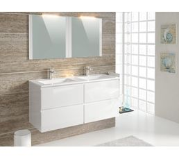 Ensemble de salle de bain 120 cm FIDJI Blanc