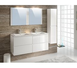 Meuble de salle de bain pas cher for Colonne de salle de bain gris anthracite