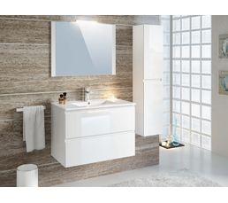 Colonne salle de bain à suspendre FIDJI Blanc
