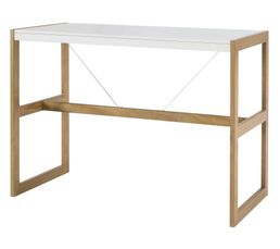Table haute CLEMENT Blanc