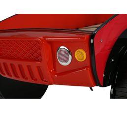 Lit 90x190 cm DAKAR rouge
