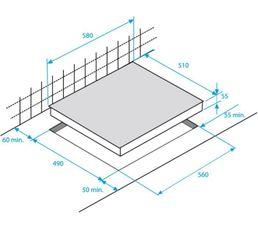 Table vitrocéramique BEKO HIC63501T