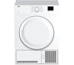 BEKO Sèche-linge frontal DBBU81310W blanc