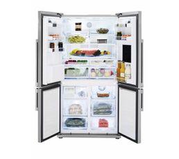 Réfrigérateur américain BEKO GNE134620X