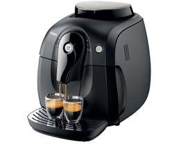 Cafetières & Expressos - Expresso avec broyeur PHILIPS HD8650/01 Noir